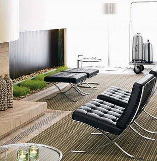 Barcelona chair for Barcelona chair living room ideas