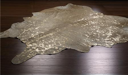 Metallic Cowhide Rug