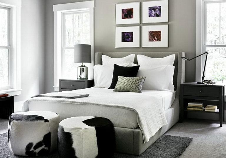 Top Modern Grey Bedroom Design With Grey Bedroom Design